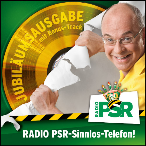 RADIO PSR-Sinnlos-Telefon!  Jubiläumsausgabe