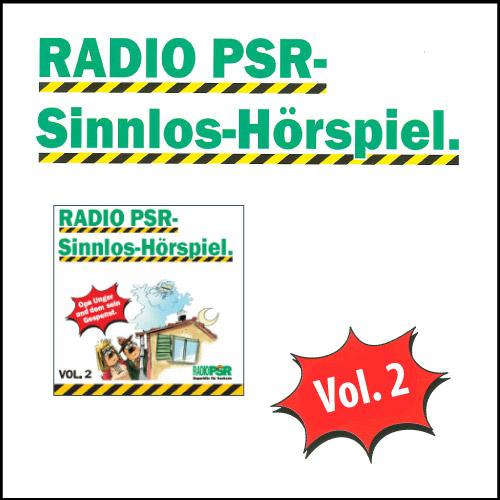 RADIO PSR - Sinnlos-Hörspiel Vol. 2