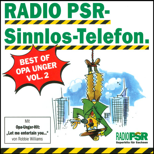 RADIO PSR - Sinnlos-Telefon Best Of Vol. 2
