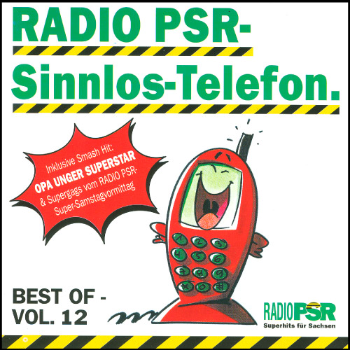RADIO PSR - Sinnlos-Telefon CD Vol. 12