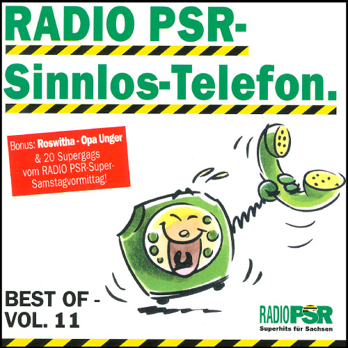 RADIO PSR - Sinnlos-Telefon CD Vol. 11