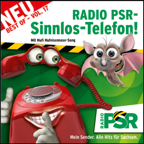 RADIO PSR - Sinnlos-Telefon CD Vol. 17