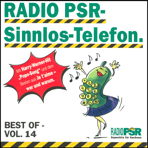 RADIO PSR - Sinnlos-Telefon CD Vol. 14