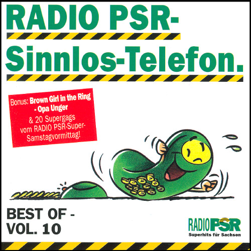 RADIO PSR - Sinnlos-Telefon CD Vol. 10