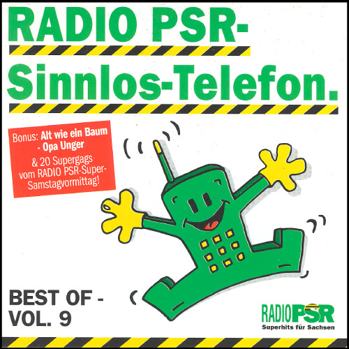 RADIO PSR - Sinnlos-Telefon CD Vol. 9