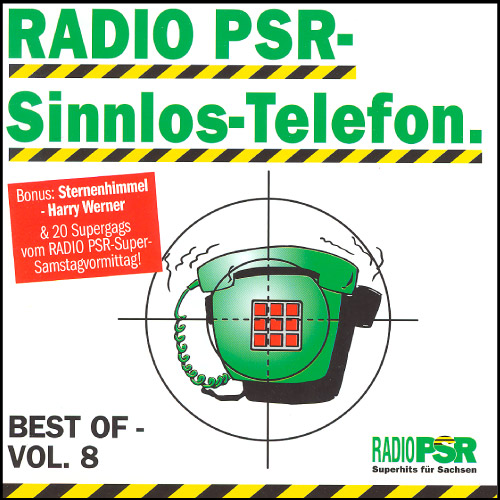 RADIO PSR - Sinnlos-Telefon CD Vol. 8