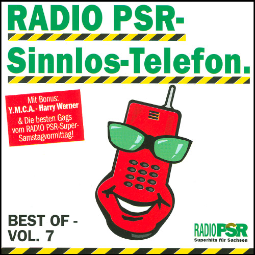 RADIO PSR - Sinnlos-Telefon CD Vol. 7