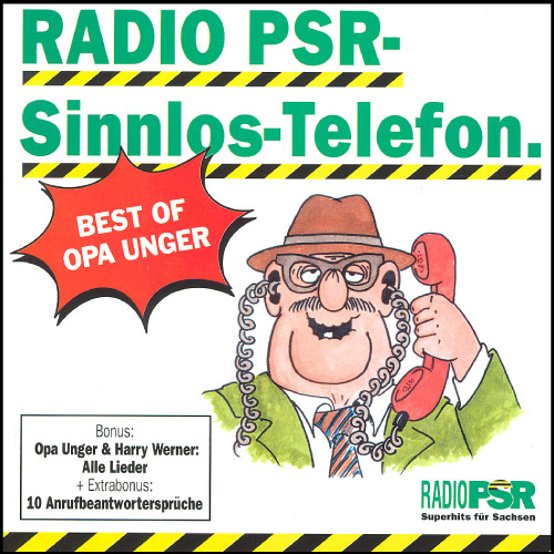 RADIO PSR - Sinnlos-Telefon Best Of Vol. 1