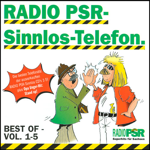 RADIO PSR - Sinnlos-Telefon Best Of Vol. 1-5