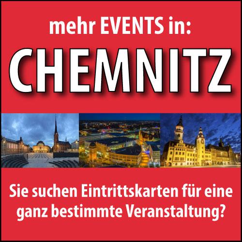 Eintrittskarten für Veranstaltungen in Chemnitz