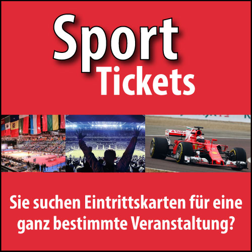 Eintrittskarten für Sportveranstaltungen in ganz Deutschland